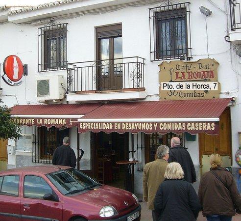 Restaurante La Romana Casabermeja/Andalusien
