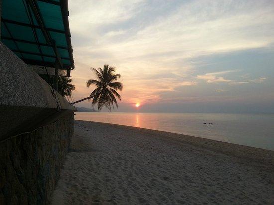 Mimosa Resort & Spa: Strand vor dem Hotel