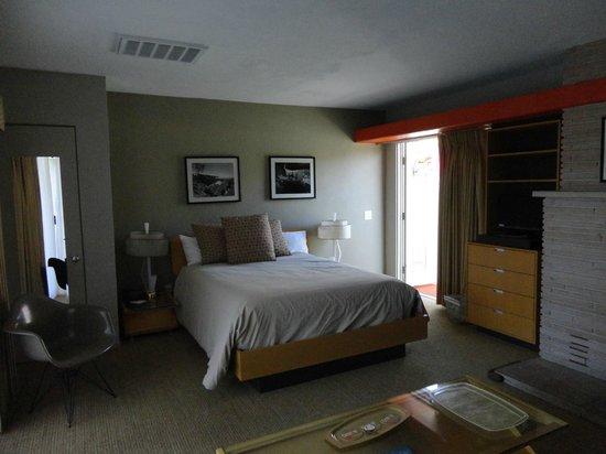 Orbit In: Bed side of room