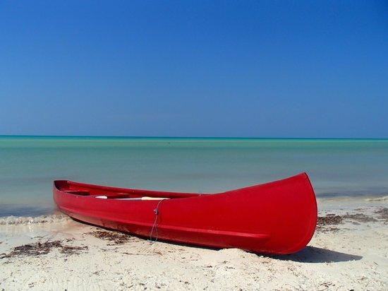Hotel Villas Delfines: Kanu mit Ausblick