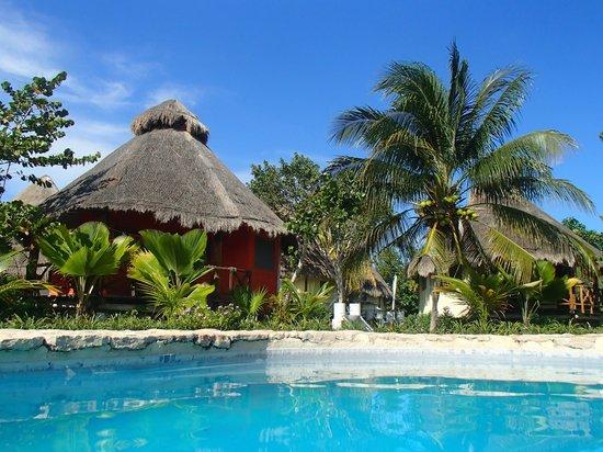 Hotel Villas Delfines: Blick vom Pool