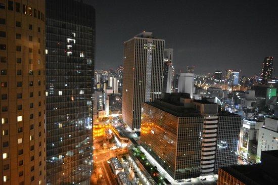 Hilton Osaka: вил на ночной город