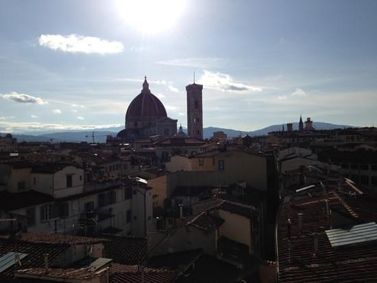 B4 Astoria Firenze: veduta dalla terrazza