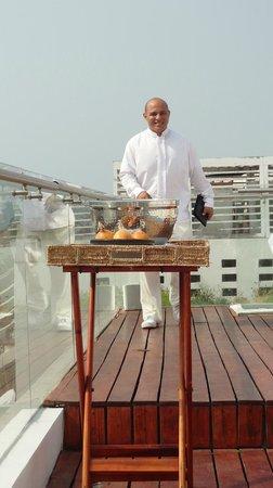 Tcherassi Hotel: rooftop pool