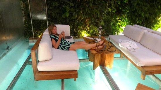 Tcherassi Hotel: lounge area