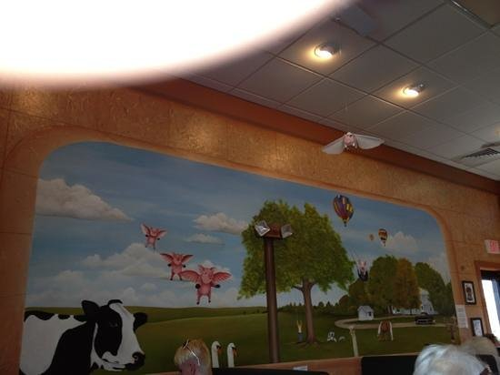 Kitty's Kafe: Pigs do fly here.