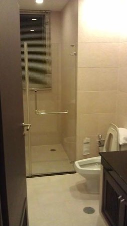Grand Mercure Bangkok Asoke Residence: shower