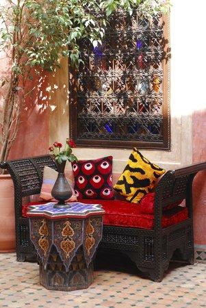 Riad Bahja : Orientalischer Ruheplatz