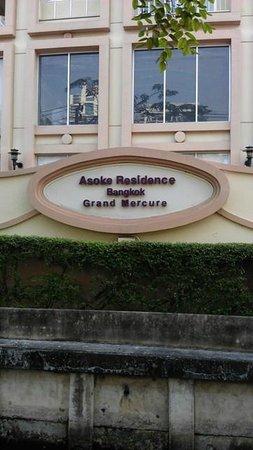 Grand Mercure Bangkok Asoke Residence : front