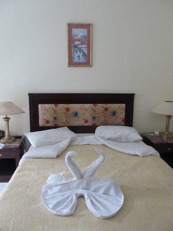 Festival Shedwan Golden Beach Resort: Номер в левой части отеля