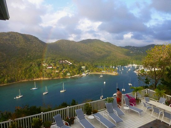 Marigot Bay, St. Lucia: Room with a view
