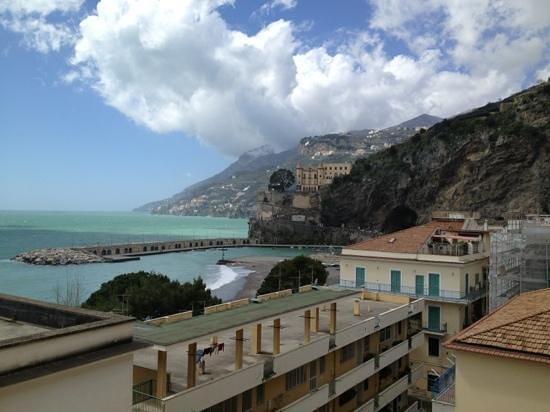 Residence Hotel Panoramic: Maiori, Amalfi Coast view from room