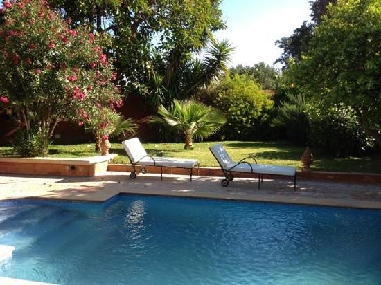 Piscine priv e picture of hotel palais saguia taroudant for Hotel piscine privee