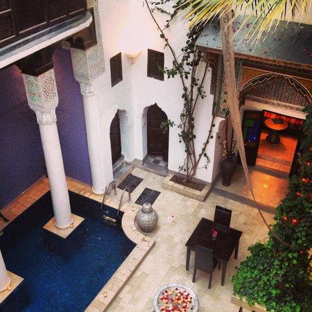 Riad Magie D'Orient : Riad courtyard