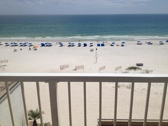 BEST WESTERN on the Beach: view from balcony