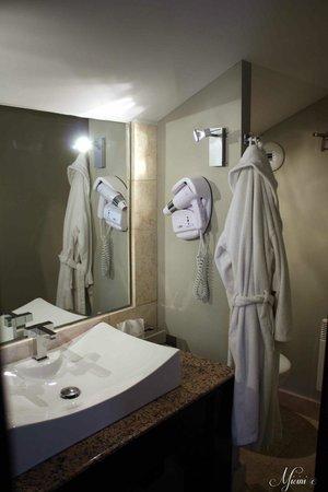 Le Mas Des Carassins Hotel : Salle d'eau