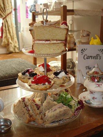 Carvell's : Afternoon tea mmmmmm.....