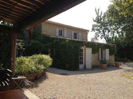 Le Mas Julien : View of terrace