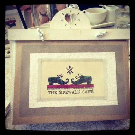 tucked away is a little piece of heaven | The Sidewalk Cafe