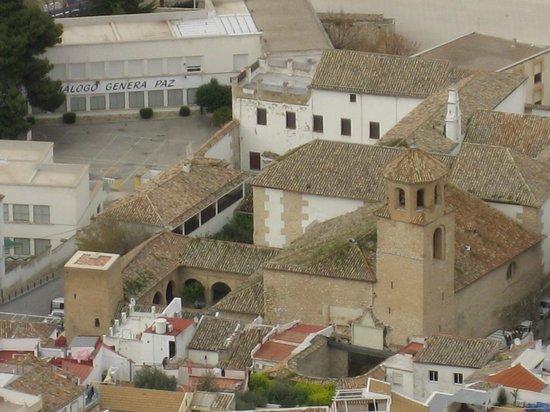 Iglesia de la Magdalena (vista desde el castillo).