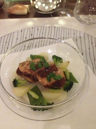 Les Hauts de Lille : Escalope de foie gras à la fève Tonka