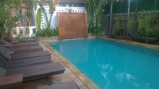 Tanei Boutique Villa: the pool