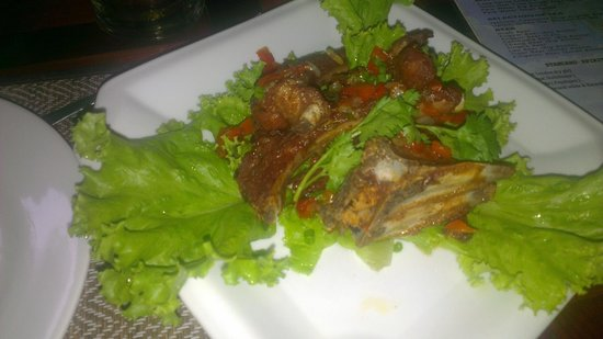 Tanei Boutique Villa: Pork ribs