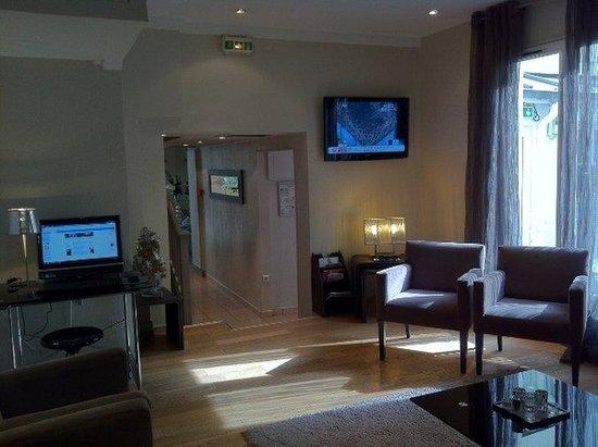 Hotel les Hauts de Passy: Lounge