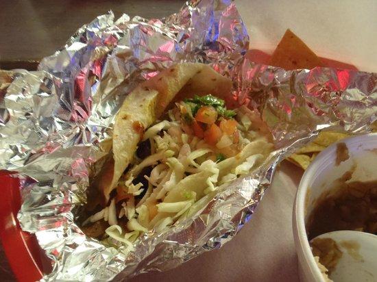Las Palapas Taco Grill: Another tasty Taco