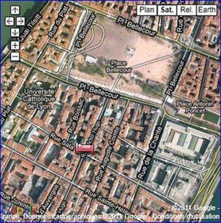 Hôtel La Résidence : Map