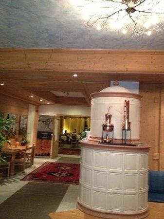 Hotel Alpine Mugon : hall