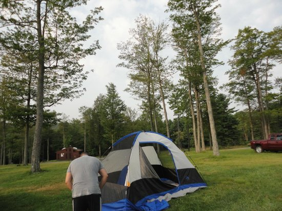 Campground Picture of Cherry Springs State Park, Coudersport