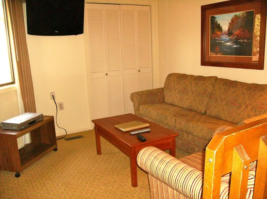 Wyndham Resort at Fairfield Bay: Living area