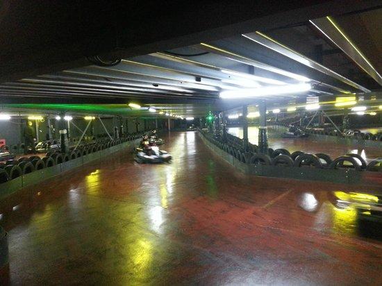 TeamSport Go Karting London Tower Bridge: downstairs