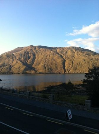 Leenane Hotel: view from the room