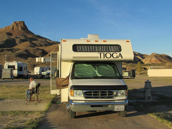 Maverick Ranch RV Park : Plenty of room between sites