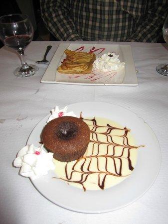 Le Restaurant des Musées : Dessert
