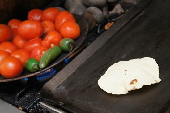 Casa Crespo Cooking Class: Making the Tortillas 'puff'