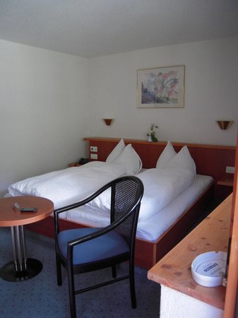 Hotel Ahorni: Clean, nicley furnished room