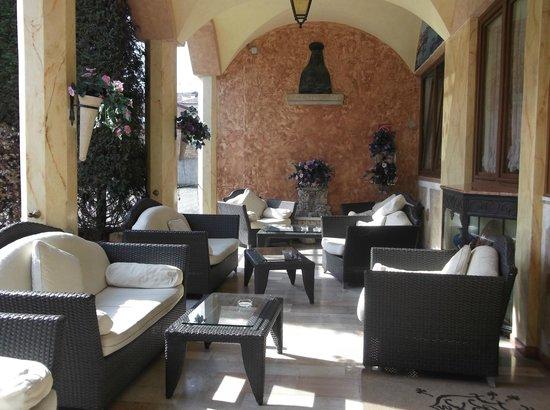 Hotel Belle Arti: lounge area
