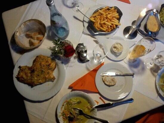 Neckarperle Hotel-Restaurant : Our dinner