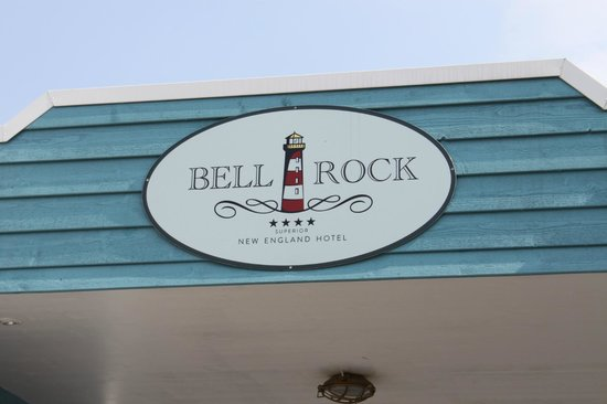 "Hotel ""Bell Rock"" Europa-Park: Enseigne"