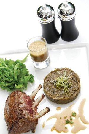 Tiffany Hotel : Restaurant menu
