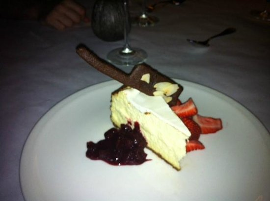 Harry's at the Waterfront : Cheesecake