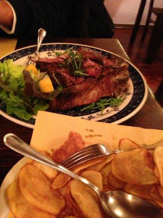 Antica Trattoria Il Barrino: Florentine Steak for 2