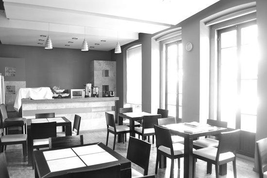 Terrasse Hotel : Cafe