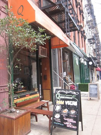 Quintessence - Great raw vegan food in the  East Village