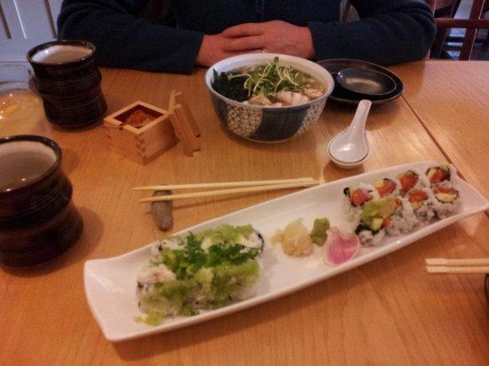 Suzuki's Sushi Bar, Rockland, ME