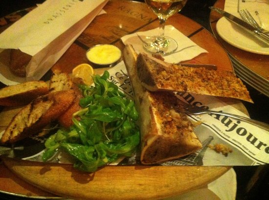 Brasserie JO : Bone marrow dish