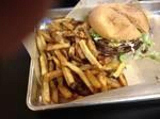 Branded Burger Co: Hand cut A+ fries-recommeded